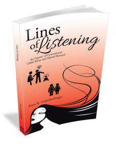 Lines of Listening book cover | From LinesOfListening.com, a website about the books Lines of Listening and Generations Intertwine, and information on Hub City Wellness – Nevada Clinical Health Care Navigators